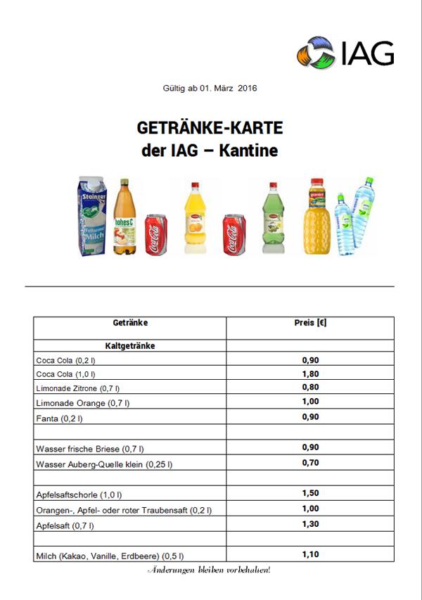 Kantine - IAG - Ihlenberger Abfallentsorgungsgesellschaft mbH